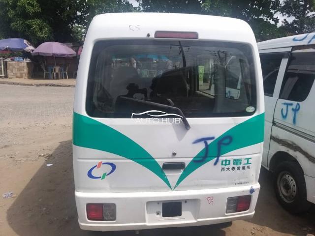 2006 Isuzu Shuttle Bus White