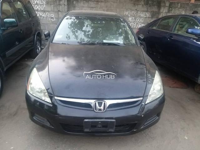 2007 Honda Accord Black