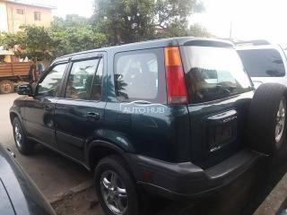 2002 Honda CRV Green