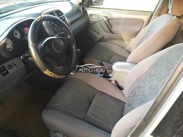 2004 Toyota Rav 4 Silver