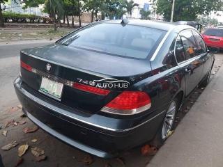 2005 BMW 745LI Black