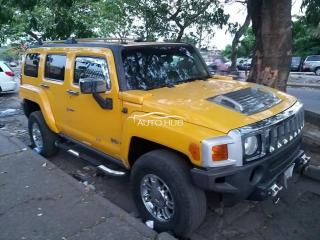 2006 Hummer 3 Jeep Yellow