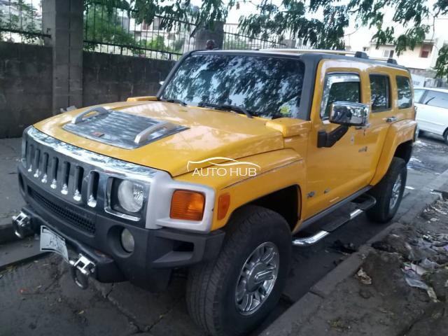 2006 Hummer 3 Jeep Yellow