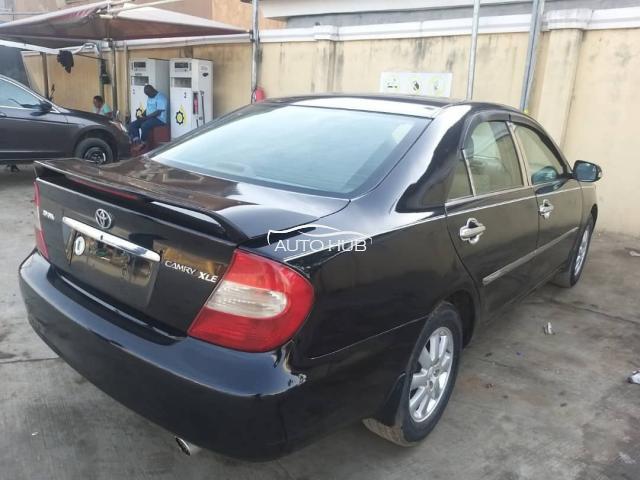 2003 Toyota Camry XLE Black