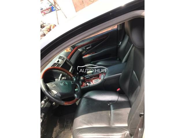 2008 Lexus LS 460 Black