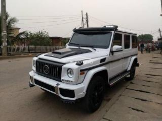 2003 Mercedes G63 White