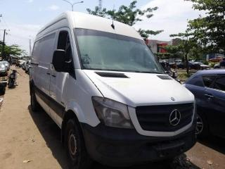 2014 Mercedes Sprinter White