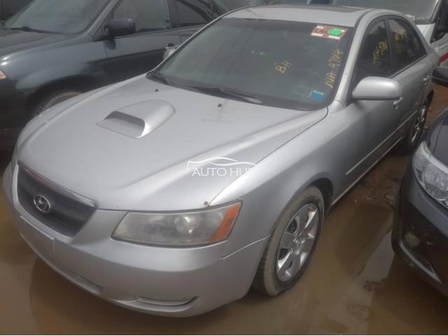 2008 Hyundai Sonata Silver