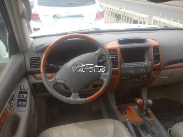 2003 Lexus GX470 White