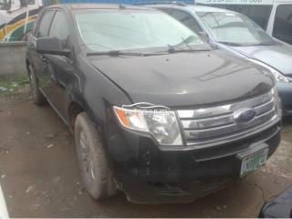 2008 Ford Edge Black