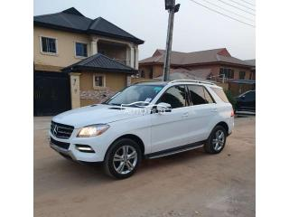 2015 Mercedes Benz ML350 White