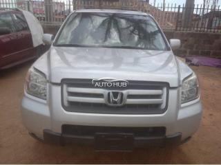 2006 Honda Pilot Silver