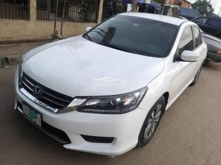 2013 Honda Accord White