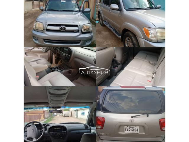 FOREIGN USED TOYOTA SEQUOIA 2007