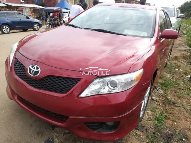 2011 Toyota Camry Red
