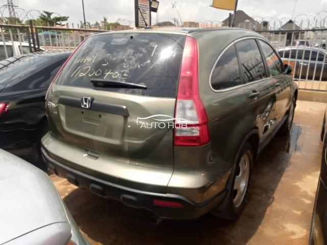2008 Honda CR-V Green