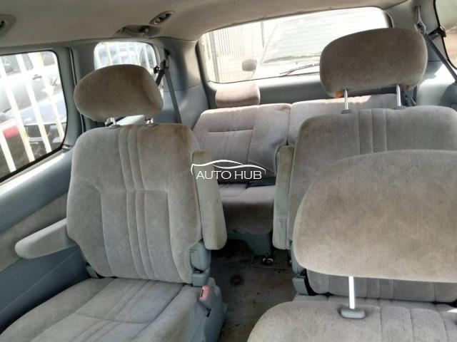 2000 Toyota Sienna White