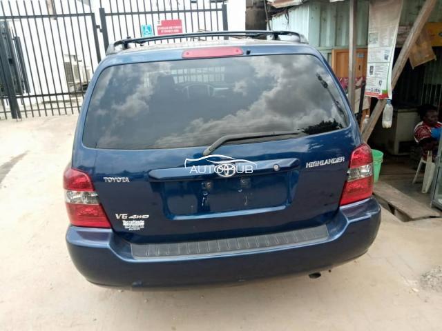 2005 Toyota Highlander Blue