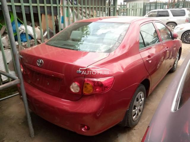 2009 Toyota Corolla Red