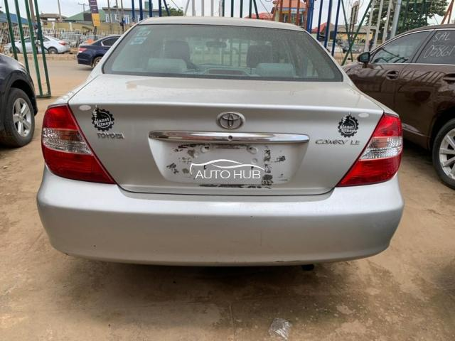 2002 Toyota Camry Silver