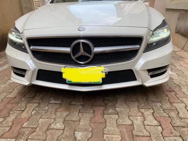 2015 Mercedes Benz CLS550 White