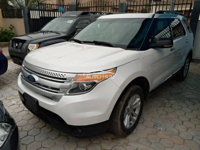 2014 Ford Explorer White