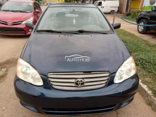 2007/Toyota Corolla Blue