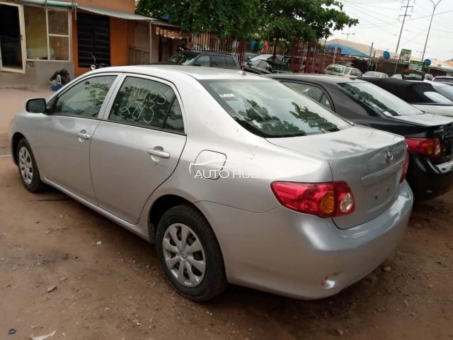 2010 Toyota Corolla Silver