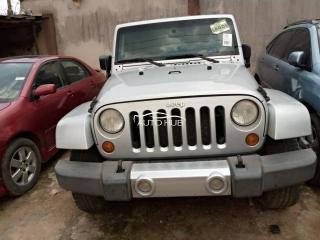 2008 Jeep Wrangler Silver