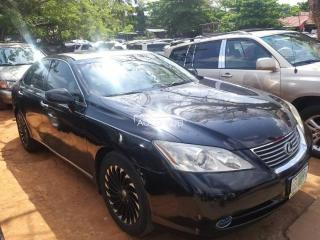 2008 Lexus ES350 Black