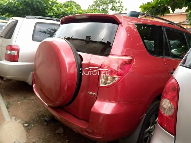 2008 Toyota Rav-4 Red