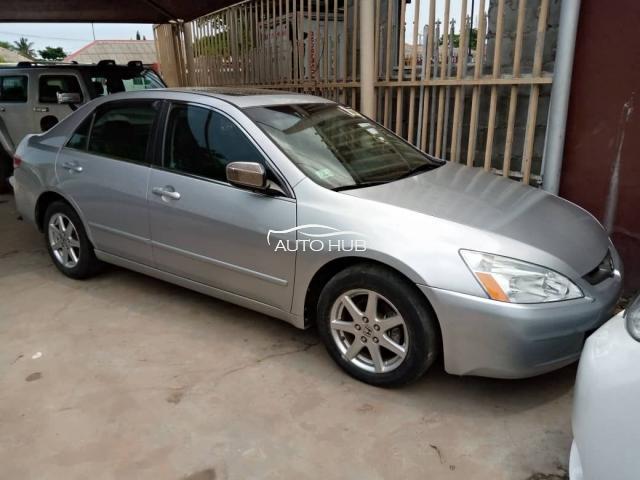 2004 Honda Accord Silver