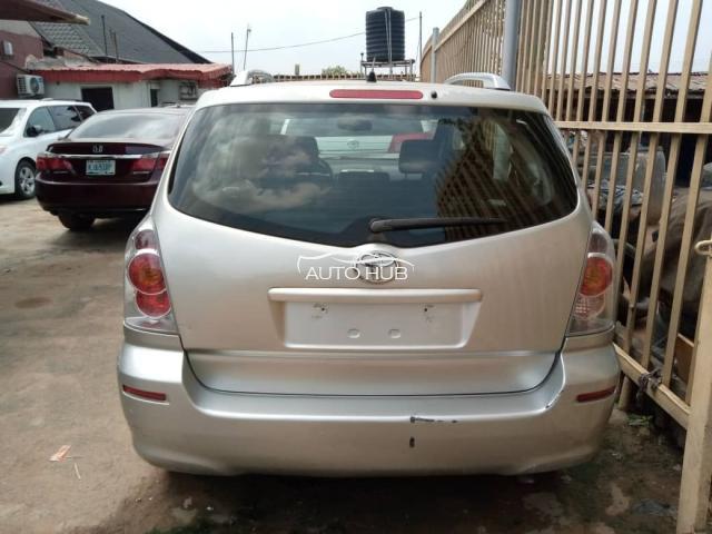 2003 Toyota Verso Corolla Silver