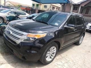 2012 Ford Explorer Black
