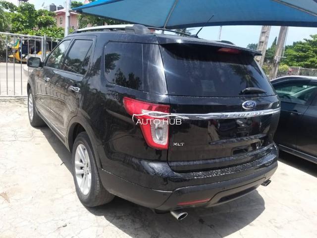 2012 Ford Explorer Black