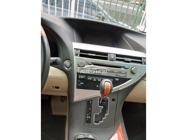 2011 Lexus RX350 Red