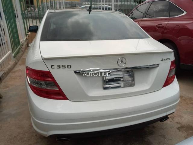 2010 Mercedes Benz C350 White