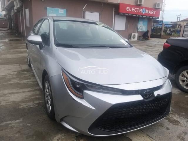 2020 Toyota Corolla Silver