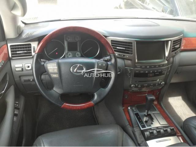 2010 Lexus LX570 Silver