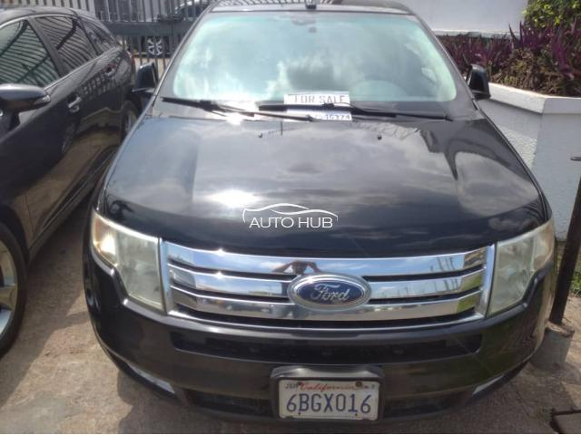 2007 Ford Edge Black