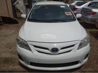 2012 Toyota Corolla White