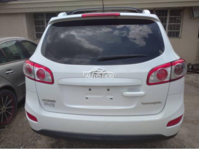 2012 Hyundai Santafee White