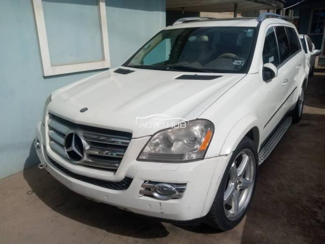 2007 Mercedes Benz GL550 White