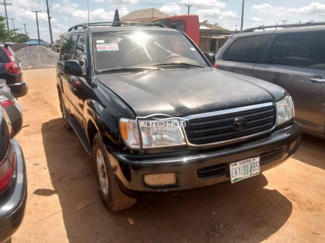 2000 Toyota Land cruiser Black