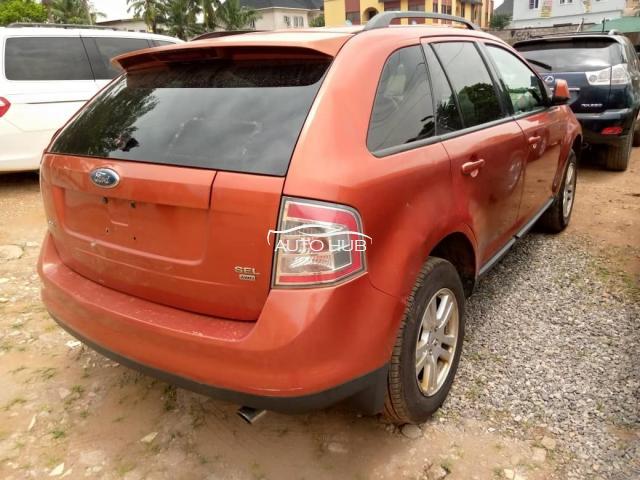 2007 Ford Edge Orange