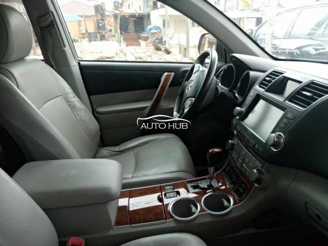 2013 Toyota Highlander Silver