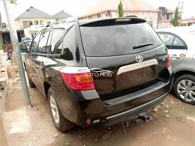 2008 Toyota Highlander Black