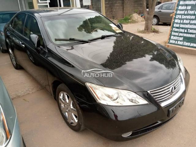2007 Lexus ES350 Black