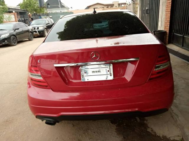 2012 Mercedes Benz C250 Red