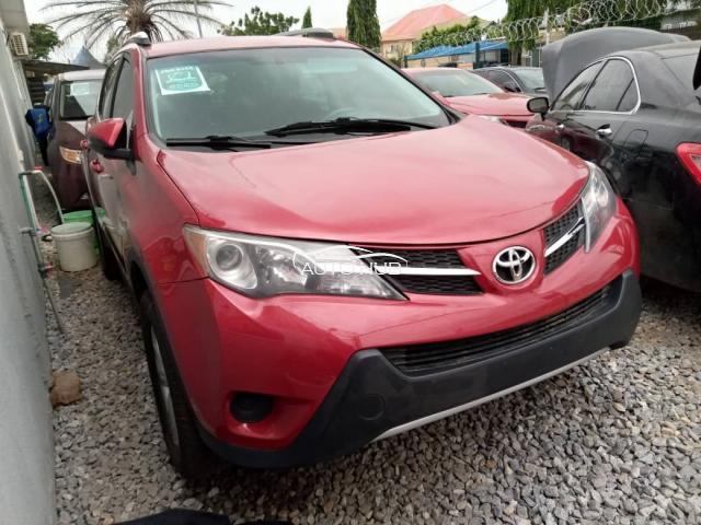 2015 Toyota Rav4 Red